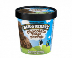 Сладолед Chocolate Fudge Brownie Ben & Jerry's 500мл