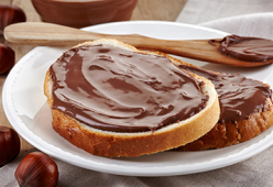 Течен шоколад и Фъстъчено масло