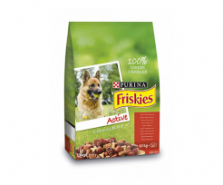 FRISKIES ACTIVE МЕСО, 10КГ