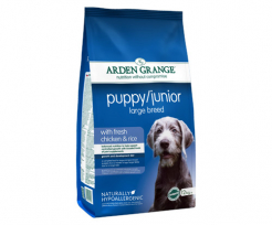 ARDEN GRANGE PUPPY/JUNIOR LARGE BREED ПИЛЕШКО И ОРИЗ 6кг