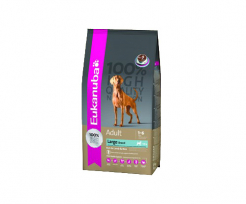 EUKANUBA ADULT LARGE BREED, АГНЕ И ОРИЗ 12кг