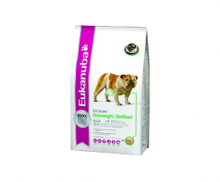 EUKANUBA DAILY CARE OVERWEIGHT, STERILIZED DOGS 2,5кг