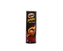 Чипс Pringles Hot & Spicy лют 165гр
