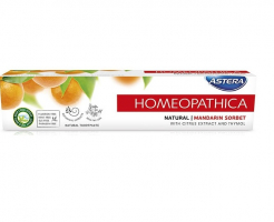 Паста за зъби Astera Homeopatica Natural мандариново сорбе 75мг