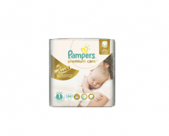 Пелени Pampers premium care 1 (2-5) 54бр