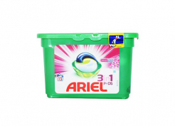 15бр Ariel капсули за пране 3в1 Pods Touch of Lenor Fresh