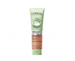 Ексфолиращ гел за лице L'Oreal Pure Clay Exfolating Cleansing Gel 150мл