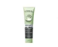 Почистващ гел за лице L'Oreal Pure Clay Purifying Cleansing Gel 150мл - въглен