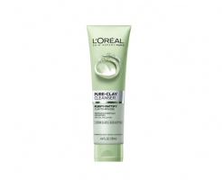 Почистващ гел за лице L'Oreal Pure Clay Purifying Cleansing Gel 150мл - евкалипт
