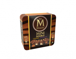Сладолед Magic Mini Double Caramel Chocolate 6x50гр