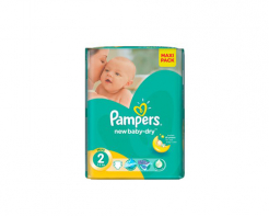Пелени Pampers active new 2 (3-6 кг) 94 бр