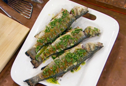 Риба на скара по гръцки